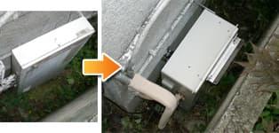 リンナイ ガス給湯器施工事例NR-816RFB-E→RFS-A1610SA