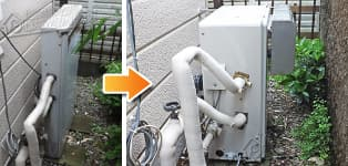 リンナイ ガス給湯器施工事例RFS-1616U→RFS-A2003SA