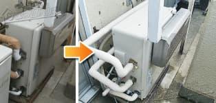 ほっとハウス リンナイ ガス給湯器施工事例RUF-A2003SAG→RUF-A2003SAG(A)