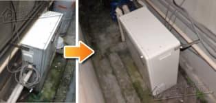 リンナイ ガス給湯器施工事例FH-161AS→RFS-A2003SA