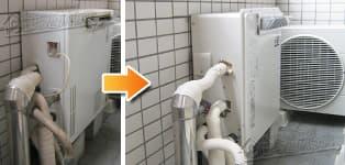 ほっとハウス リンナイ ガス給湯器施工事例GX-164AR-1→RUF-A2003SAG(A)