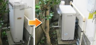 リンナイ ガス給湯器施工事例GRQ-1610SA→RFS-A1610SA
