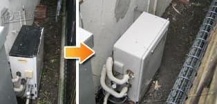 リンナイ ガス給湯器施工事例NR-A816RF-E→RFS-A2003SA