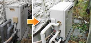 リンナイ ガス給湯器施工事例GT-1627SARX→RUF-A1610SAG(A)