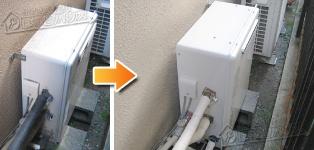 リンナイ ガス給湯器施工事例RUF-V2405AG→RUF-A2400SAG(A)