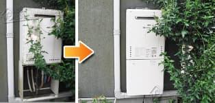 ほっとハウス ノーリツ ガス給湯器施工事例GT-2028SAWX→GT-2060SAWX BL