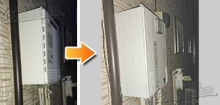 パーパス ガス給湯器施工事例GT-2428SAWX→GX-H2402AW