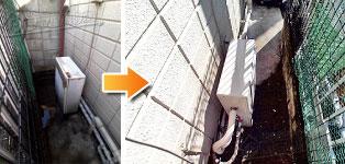 リンナイ ガス給湯器施工事例NR-524RF→RUX-A2403G