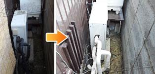 ほっとハウス リンナイ ガス給湯器施工事例GQ-1616RX→RUX-A1613G