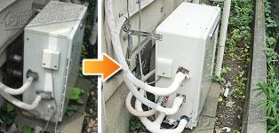 リンナイ ガス給湯器施工事例KG-A820R-E1→RUF-A2003SAG(A)