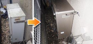 リンナイ ガス給湯器施工事例GT-2422SARX→RUF-E2405SAG(A)