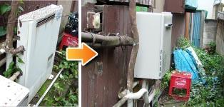 リンナイ ガス給湯器施工事例GFK-1641A→RUF-A1615SAW(B)
