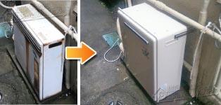 リンナイ ガス給湯器施工事例GT-242AR→RUF-A2400AG(A)