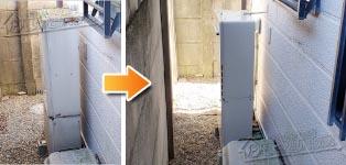 リンナイ ガス給湯器施工事例GTH-2411AWXD→RUF-A2405AW(B)
