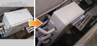 リンナイ ガス給湯器施工事例GRQ-2028SAX-1→RUF-A2003SAG(A)